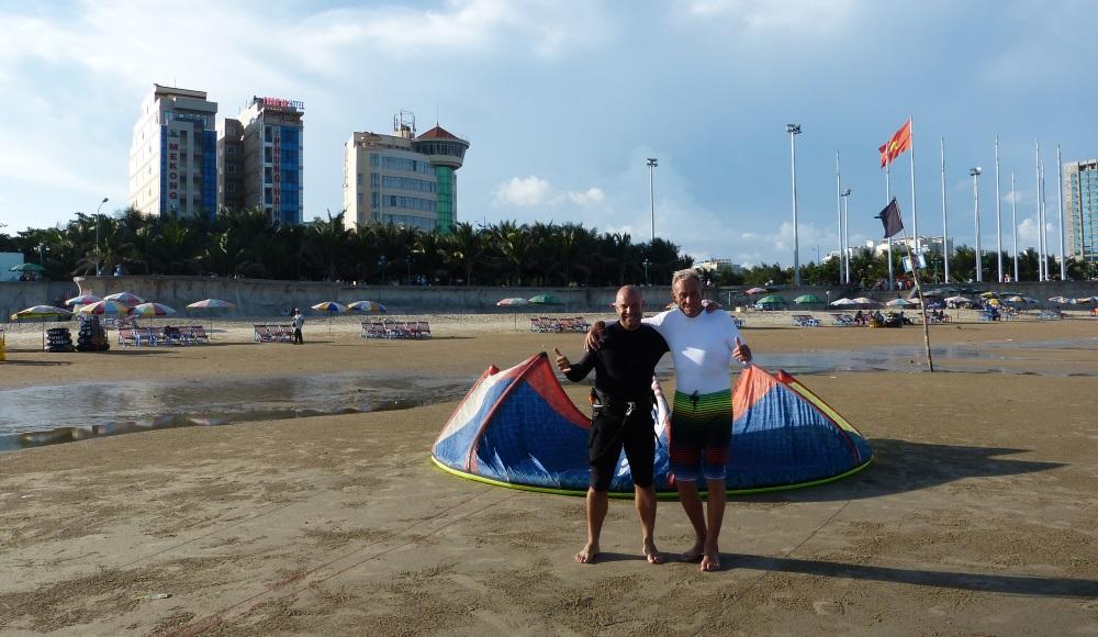 por que aprender kitesurf Ihre kiteschule vietnam kitekurse November