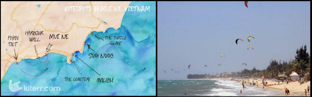 Mui ne - kiteschool kitesurfing lessons Vung Tau
