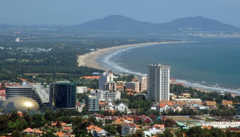 2 kite city Vietnam-Vung Tau, kiteboard Scuola di dicembre del miglior kite spot