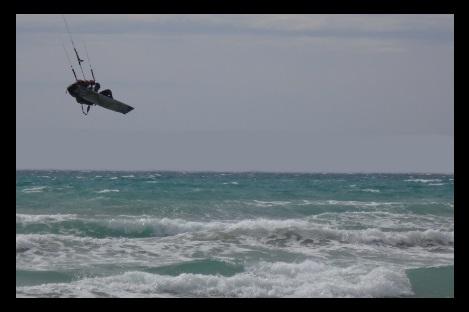 Aufwind, Abwind und Springen - Körperpositionierung Kitesurfen Vietnam