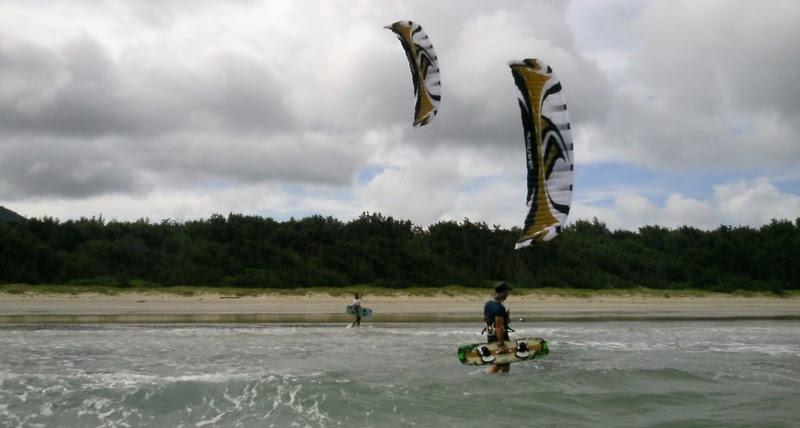 Con-Dao kitesurfing island Vietnamese kite school gennaio imparare kitesurf in Asia
