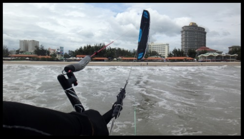 elegido para visitar Vietnam kitesurfing school kite course