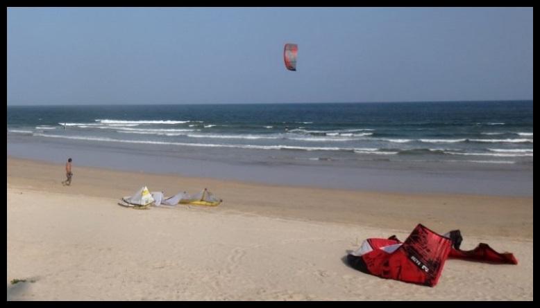 ietnam best kite-beach skola kite Vung Tau Flysurfer kite kurs Januar