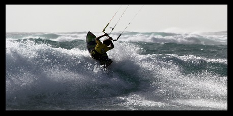kite linjer krysser lære å unngå det kiteschool Vietnam Vung Tau kite leksjoner