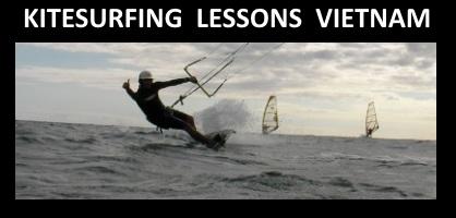 Aufwind, Abwind und Springen - kitesurfen vietnam - kitekurs auf Vung Tau stadt Körperpositionierung Kitesurfen Vietnam