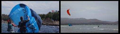 Flysurfer Peak au Vietnam Kitesurf Vung Tau apprendre kite Bai Sau plage