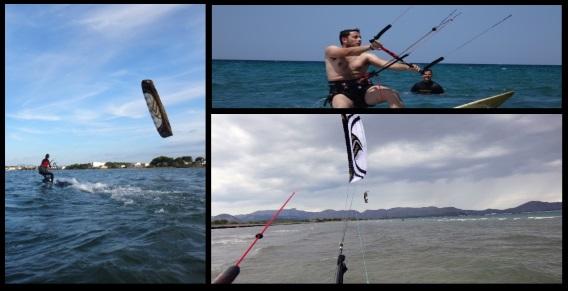 Flysurfer Vietnam cursos de kitesurf alcanzar el planeo en 3 dias kite en Noviembre