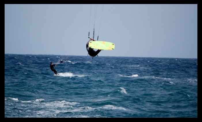 Kitesurfing lessons vietnam com the wind is enough for a jump keeping the kite upwards