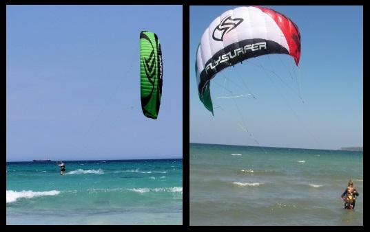 Speed 3 Flysurfer leçons de Vietnam Viron avec vietnam ecole de kite Februar