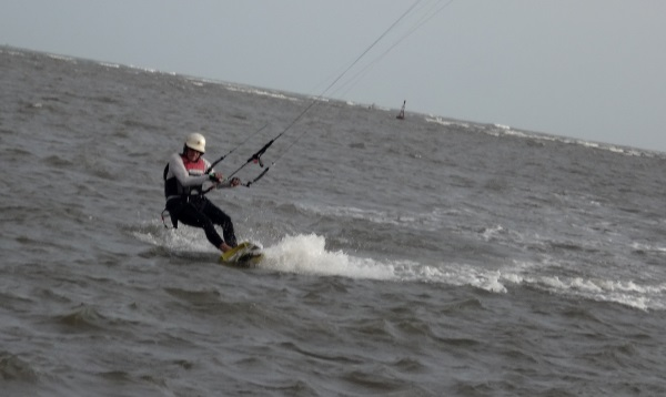 12 kite board flysurfer split 134x41 kite scene in Vung Tau