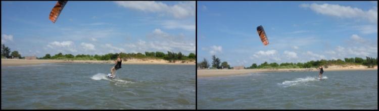 kitesurfing in Vietnam - Ho Chi Minh kite school - Vung Tau beach