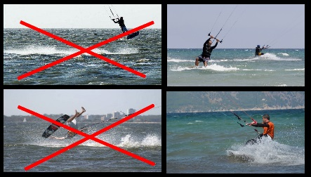too much wind bad kitespot Muine best kite lessons Vung Tau Vietnam
