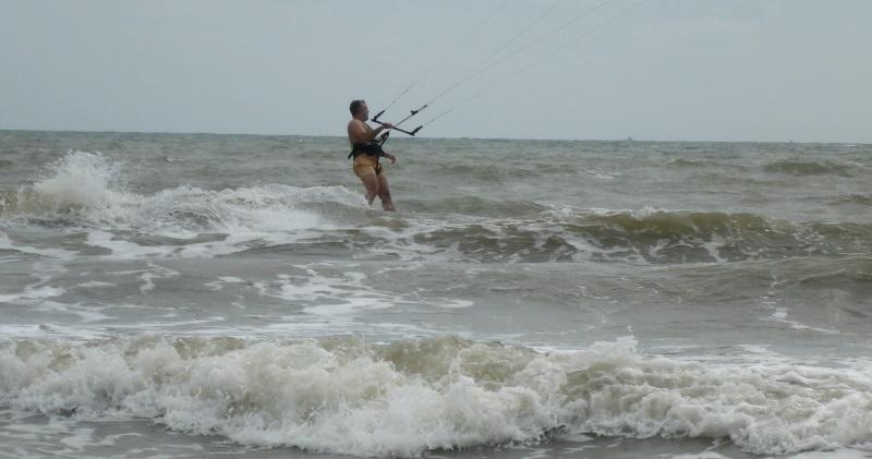8 etudiant de kite a Vung Tau russian kitesurfing skola Decembre
