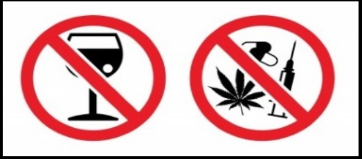 10 bez narkotyków - bez alkoholu podczas kitesurfingu