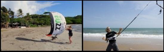 2 Nie używaj latawca, który jest zbyt duży dla wiatru, ponieważ szybkie wypięcie może wpędzić w kłopoty