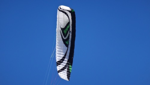 5 kite foil in Vietnam flysurfer Lotus kite lessons in December