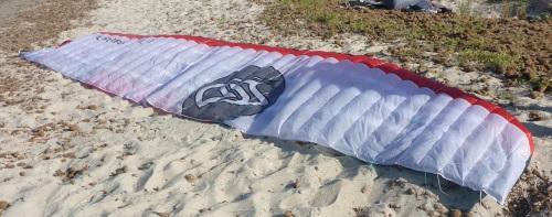 8 foil kite Soul Vietnam kiteschool in Vung Tau January