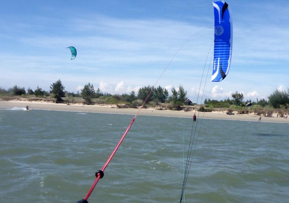 11 Ein letztes Bild hinter der Flysurfer Speed 5 von 9 Metern
