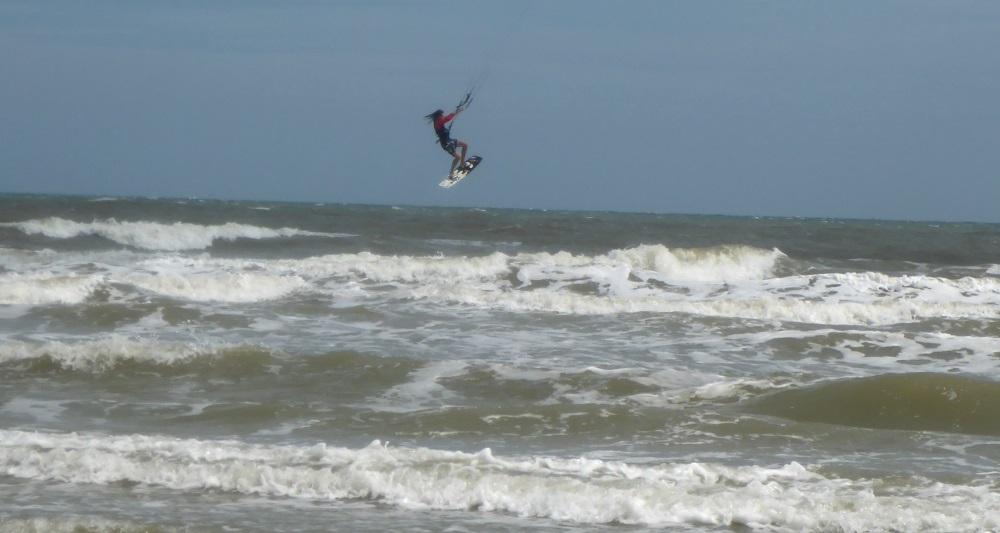2 Rampen beim Kitesurfen an der Bai Sau Beach Kite Schule