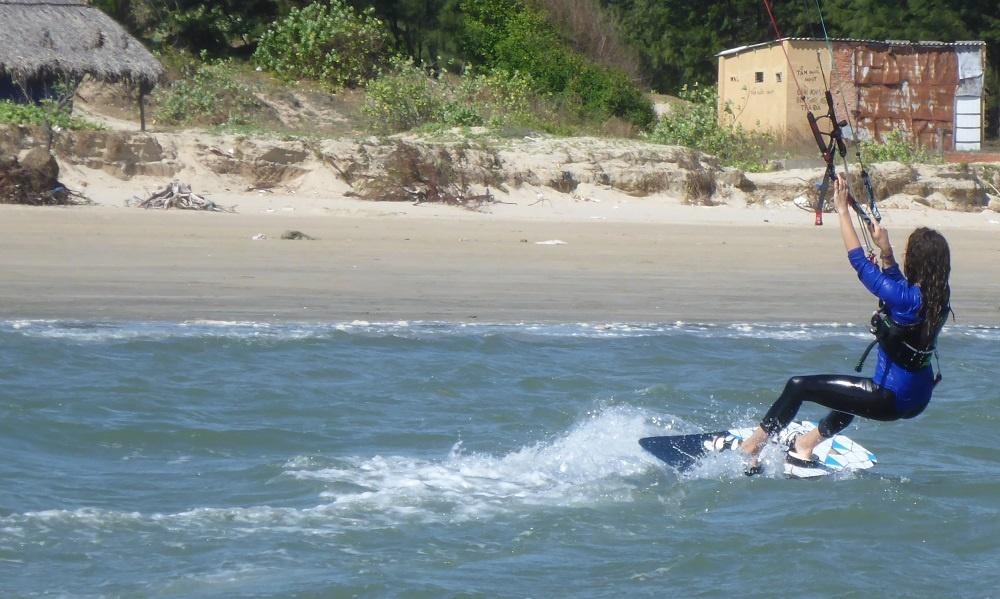 3 Fahrt zum Strand mit Modell Flysurfer Speed 5