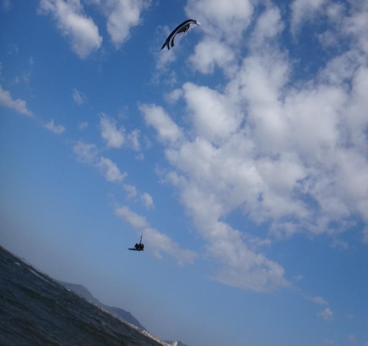 Tout d'abord, prenez vos cours de kitesurf