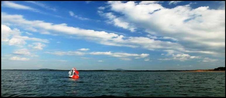 el lago de Tri An reserva de agua de Ho Chi Minh