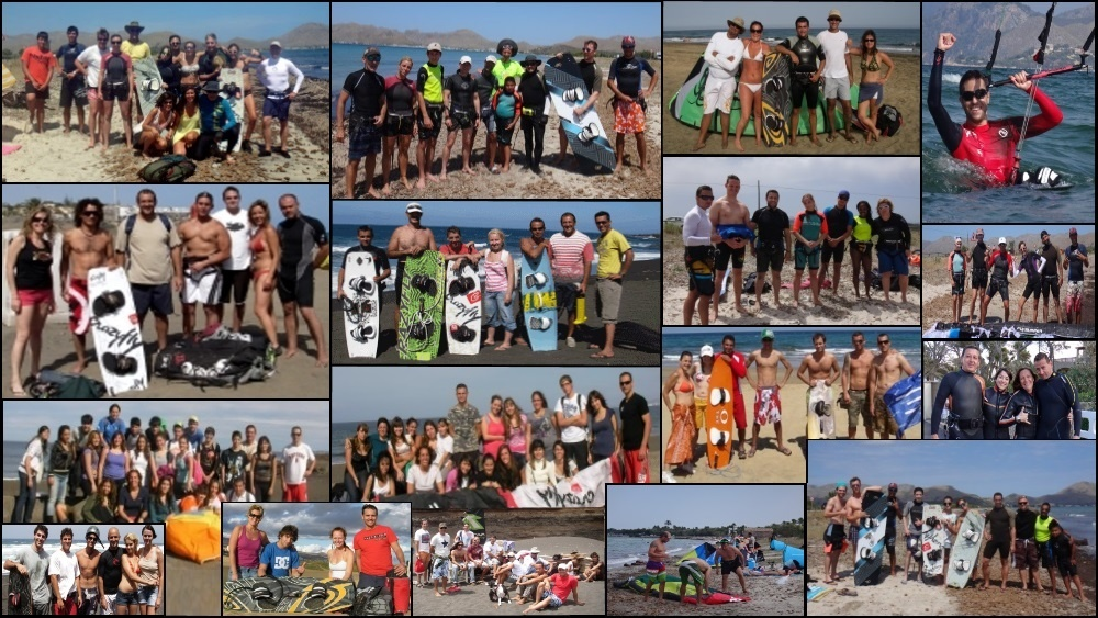 There are other destinations to learn or practice kitesurfing at