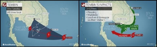météorologie vietnam typhon