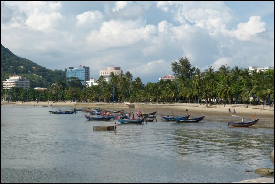 5 cours de kitesurf vietnam vung tau à marée basse