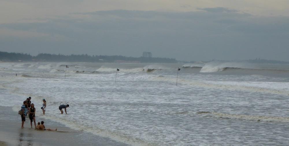 olas en Vung Tau direccion mar-tierra