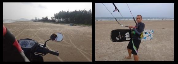 8 avec la motorbike-ride a Vung-Tau- le meilleur kitespot au vietnam