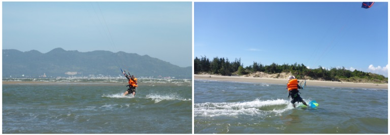 kitesurfing school in Vung Tau - Vietnam kite courses December January and February