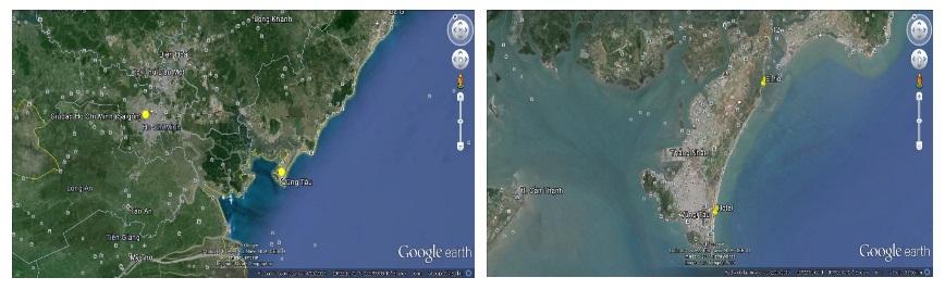 điểm lướt ván diều nước phẳng ở Vũng Tàu