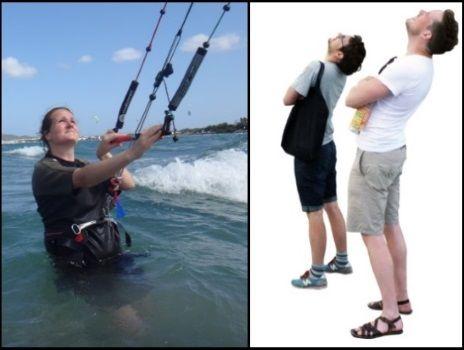 Khi chúng ta muốn học lướt ván diều