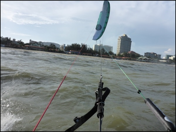 10 to maintain a good angle in your kite will enhance your upwind rides