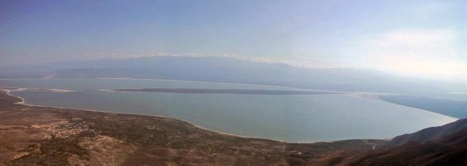 lago enriquillo kitesurfing en Doninicana