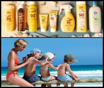 sun ointments and solar protection also for kitesurfing