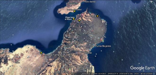 3 Mapa-Lanzarote norte
