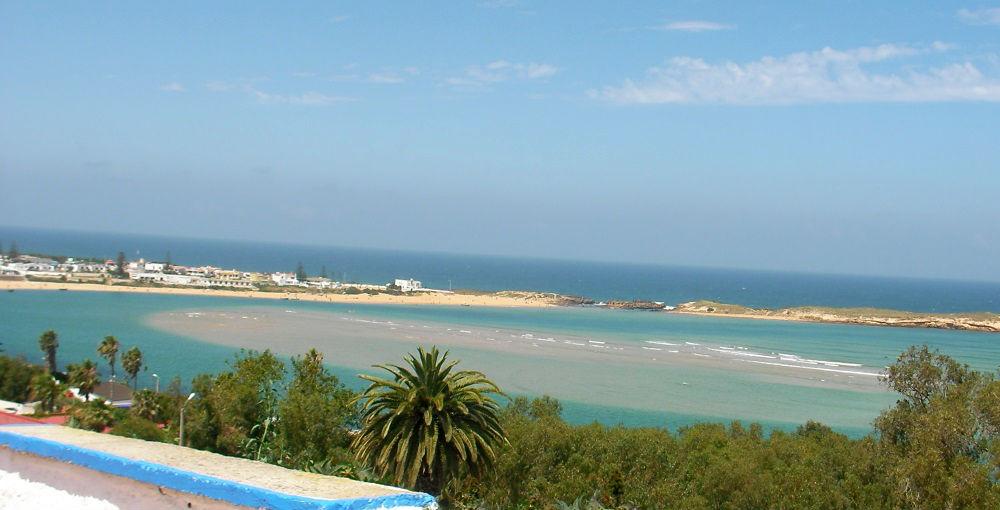 marea alta en Oualidia