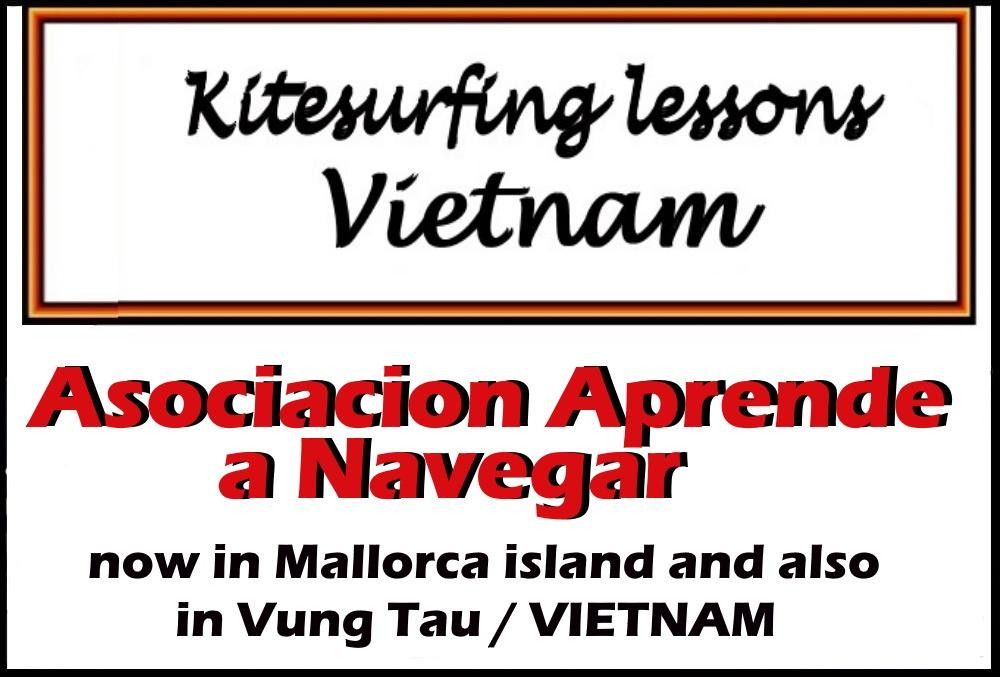 kitesurfing lessons vietnam logo asociation