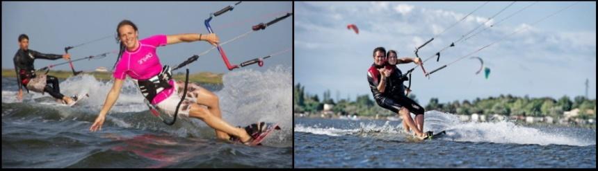 học lướt ván diều với cô gái của bạn ở Vũng Tàu