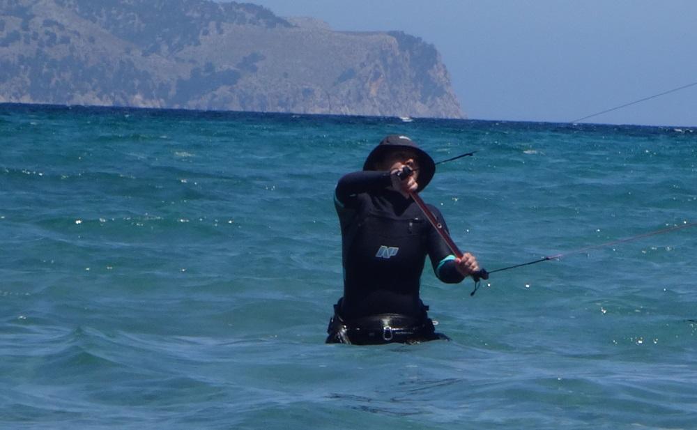 1 aprender kitesurf en Mallorca