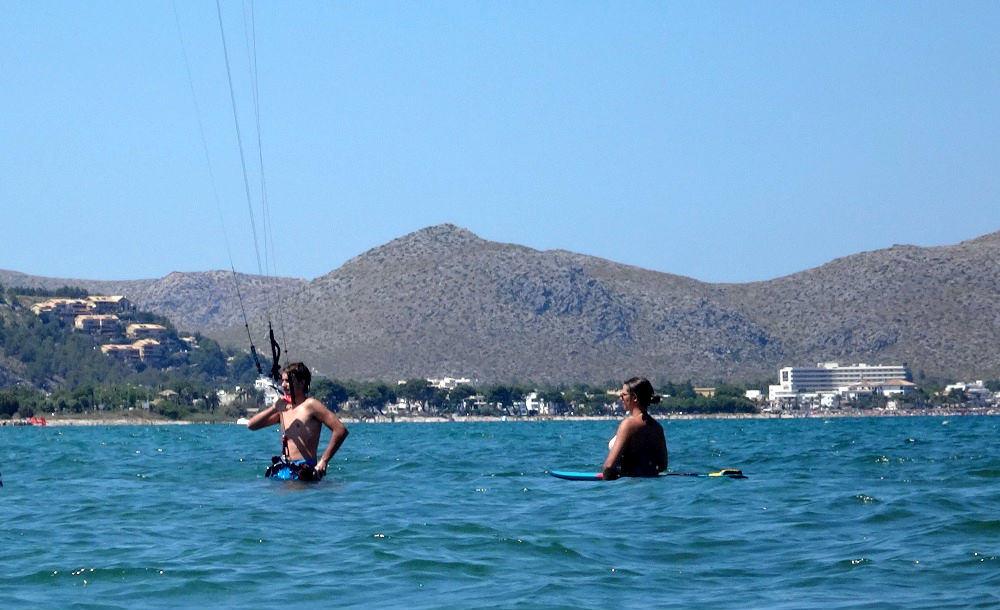 1 clases de kitesufing en dos dias