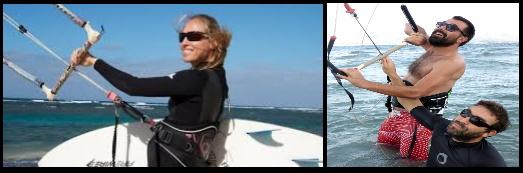 1 gafas de sol en kitesurfing