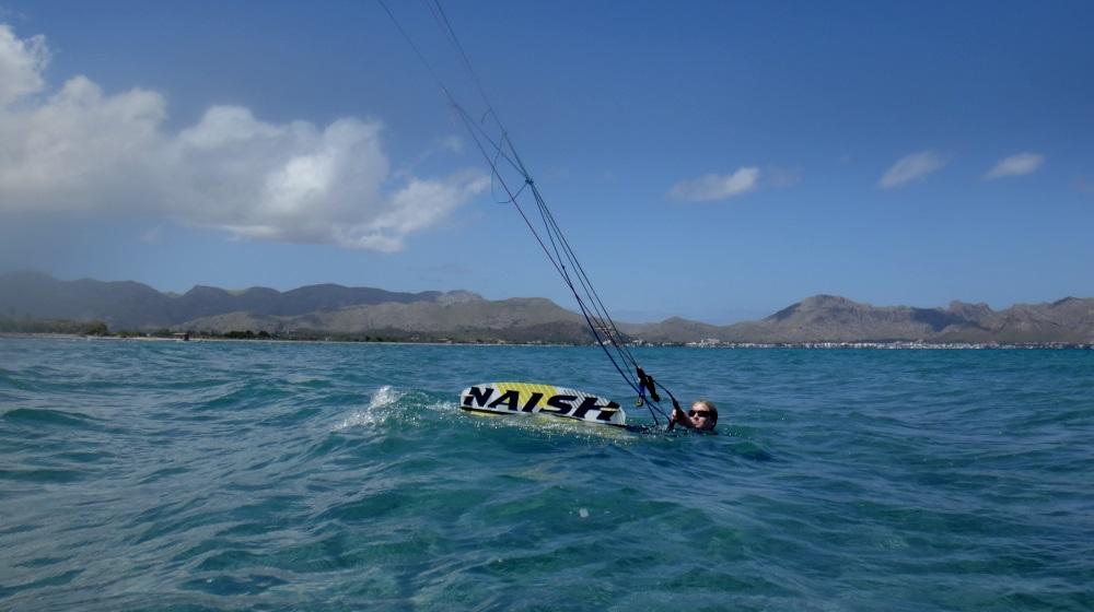 1 kitesurfing aprender en Mallorca
