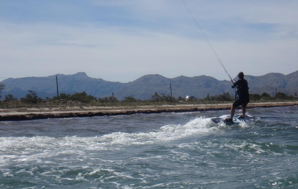 11 curso de kitesurf en Mallorca