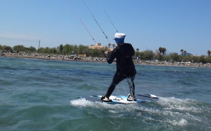 11 kitesurf en Mallorca flyboard