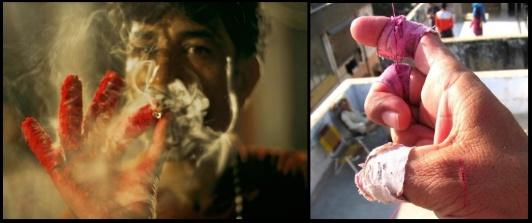 12 a la lucha y bien fumao
