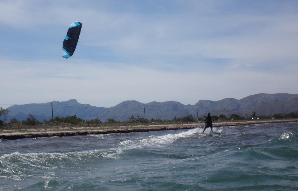 12 clases de kite en Mallorca con Flysurfer