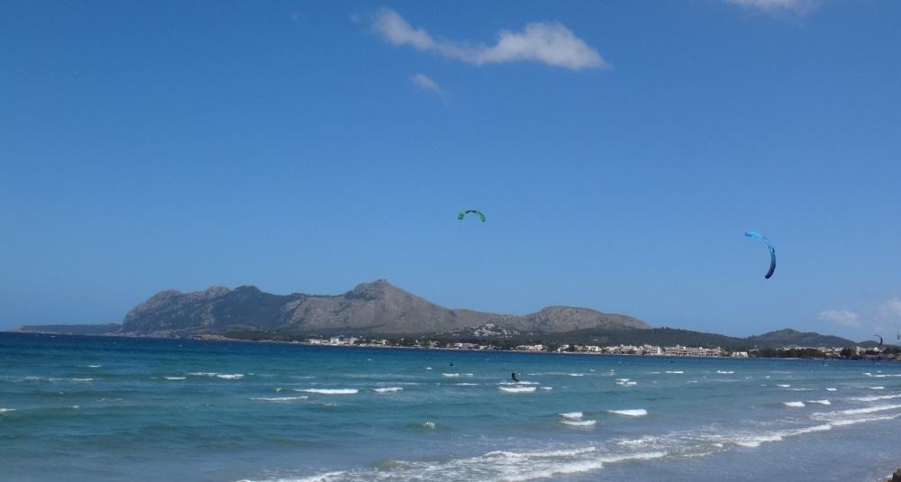 14 las mejores clases de kitesurf en Pollensa